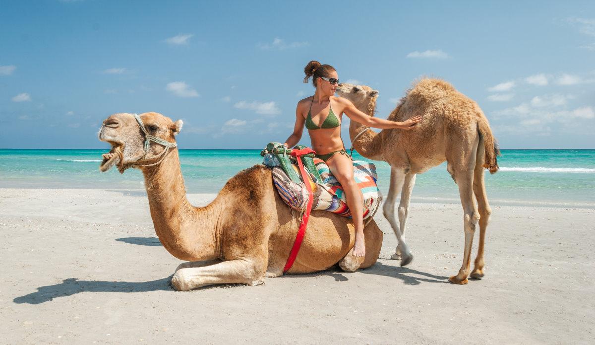 Tunesien am Strand von Djerba