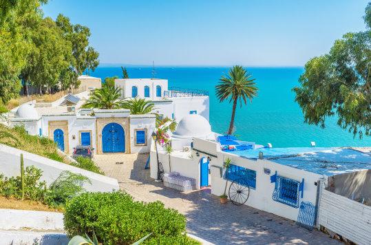 Tunesien Ort an der Küste
